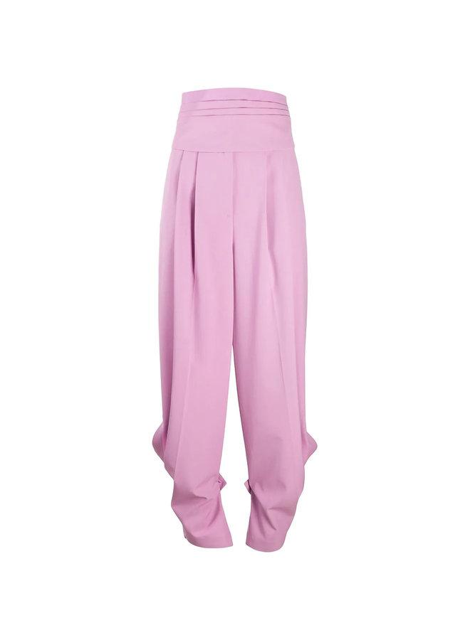 High Waisted Pleated Pants