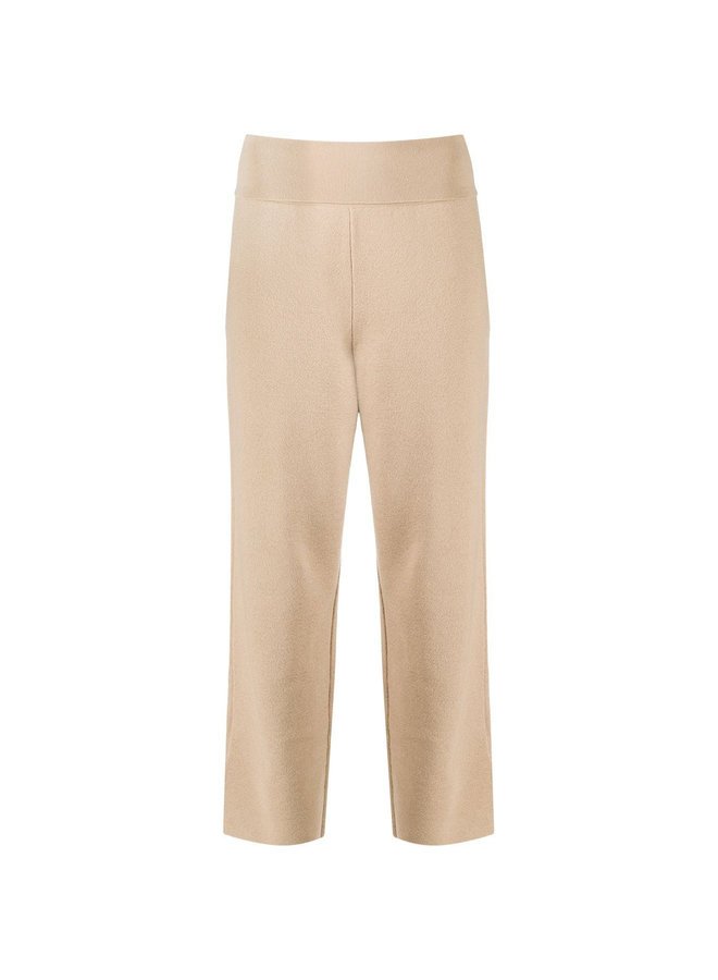 Straight Leg Cropped Casual Pants