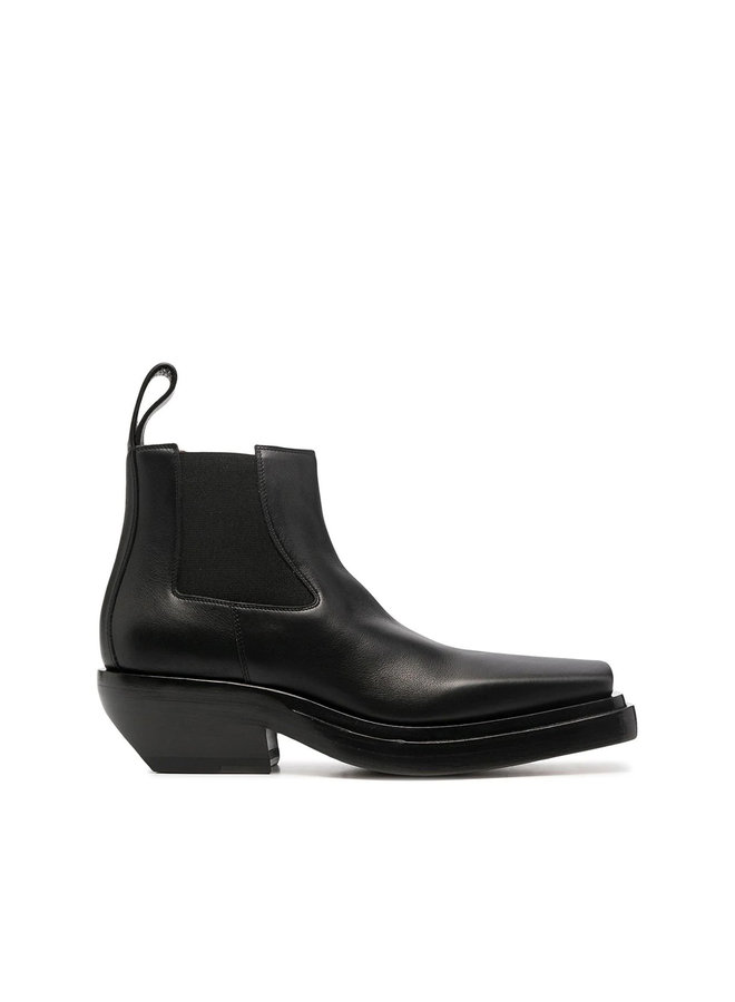 Lean Low Heel Ankle Boots