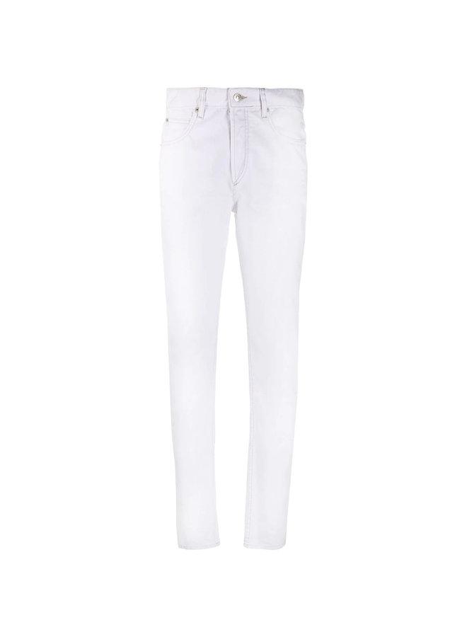 High Waisted Straight Leg Jeans