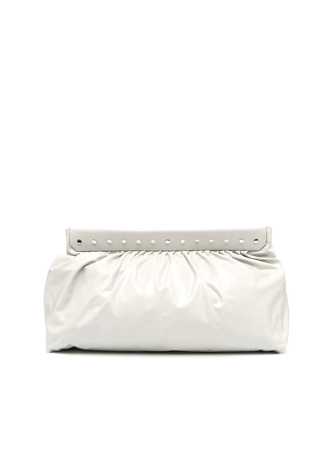 Luzel Clutch Bag in Leather