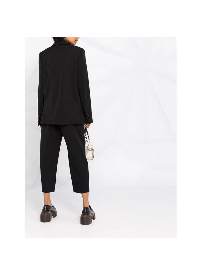 Single Breasted Blazer Jacket in Black