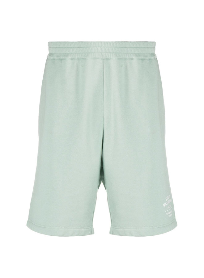 Casual Track Shorts with Logo