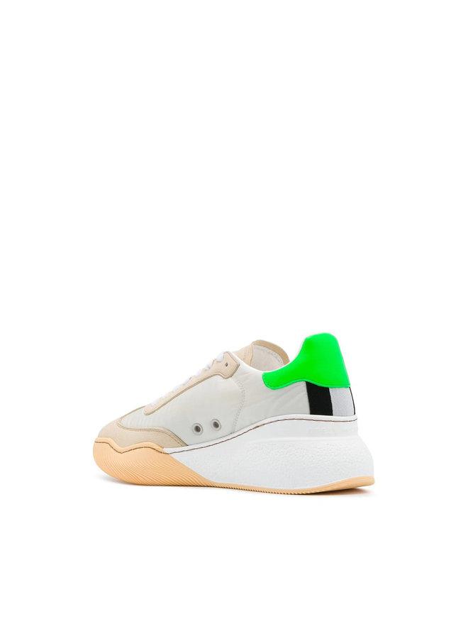 Loop Low Top Sneakers in Butter/Multicolor