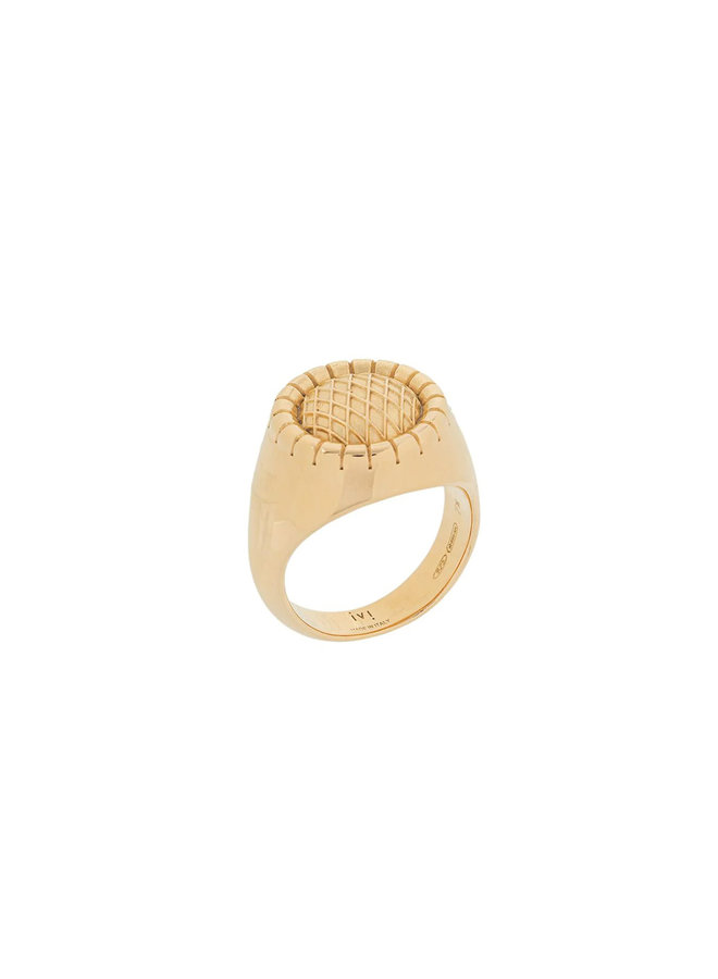 Signora Signet Ring in Gold