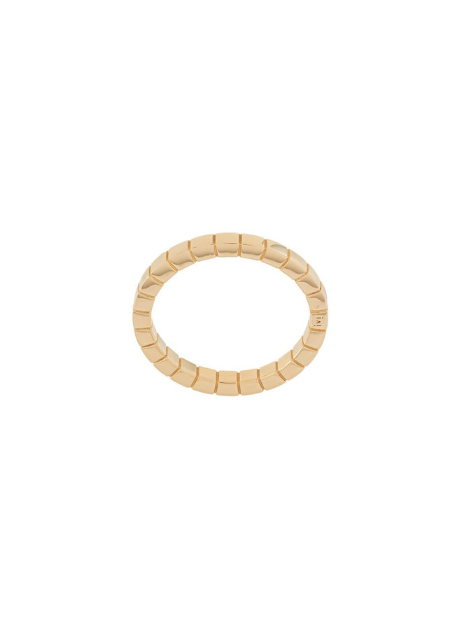 Skinny Signore Band in Gold
