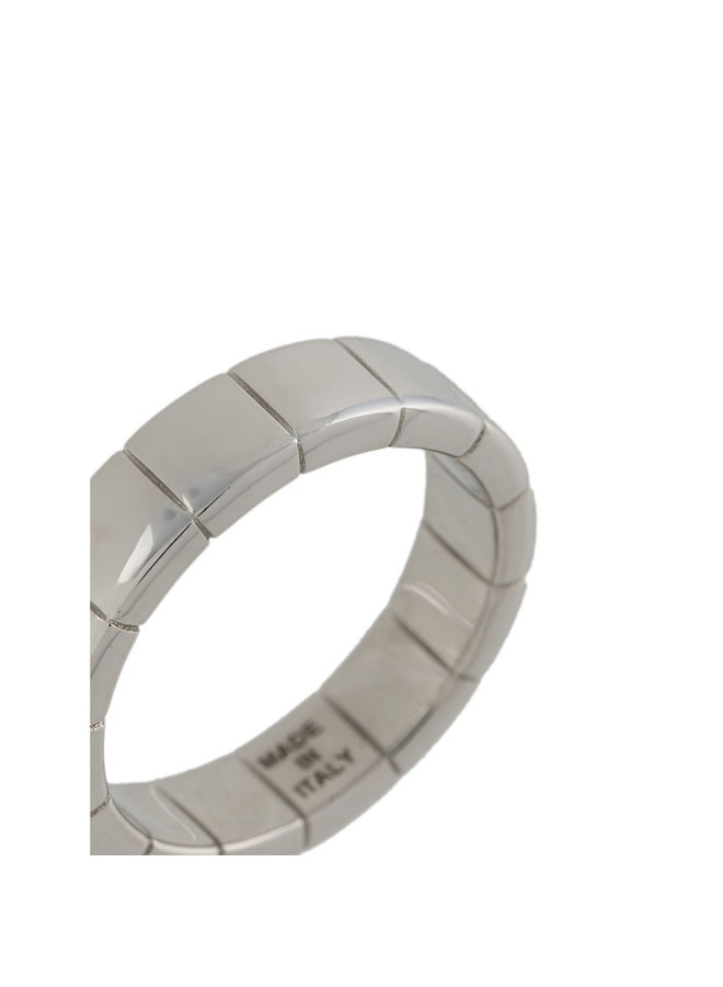 Signore Band Ring in Silver