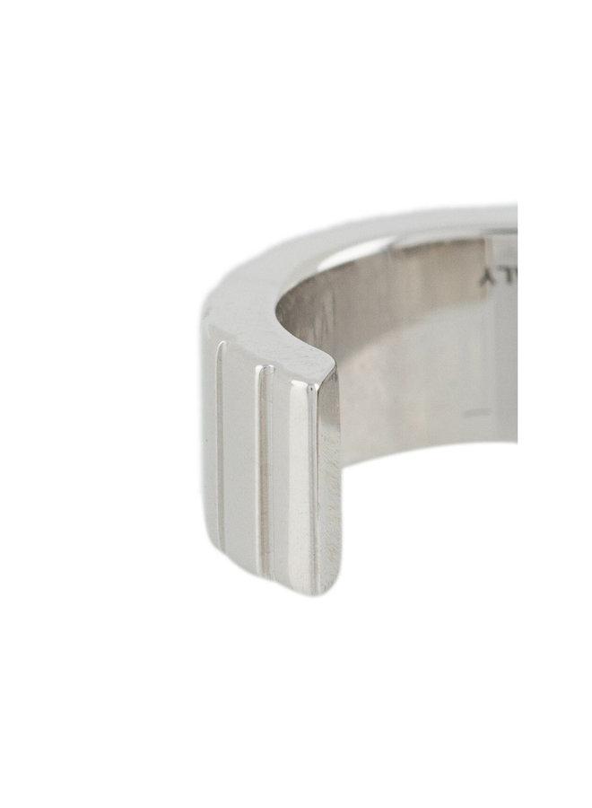 Single Slot Earcuff in Silver