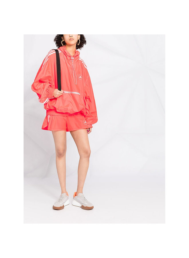 Oversized Lightweight Outwear in Coral