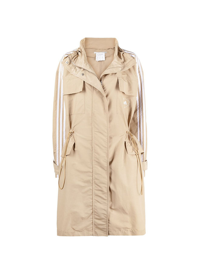 3 Stripe Trench Coat