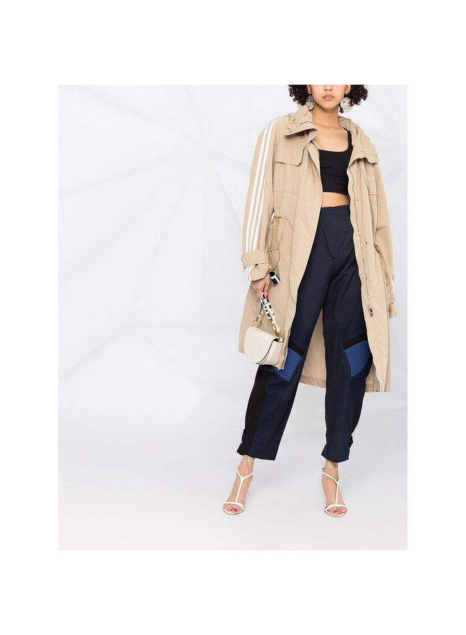 3 Stripe Trench Coat in Cotton in Bamboo