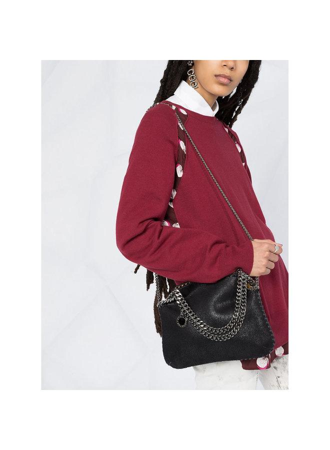 Falabella Mini Tote Crossbody Bag in Black