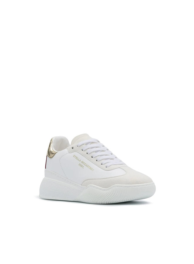 Loop Low Top Sneakers in White