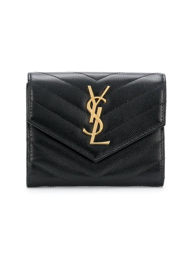 Monogram Trifold Wallet