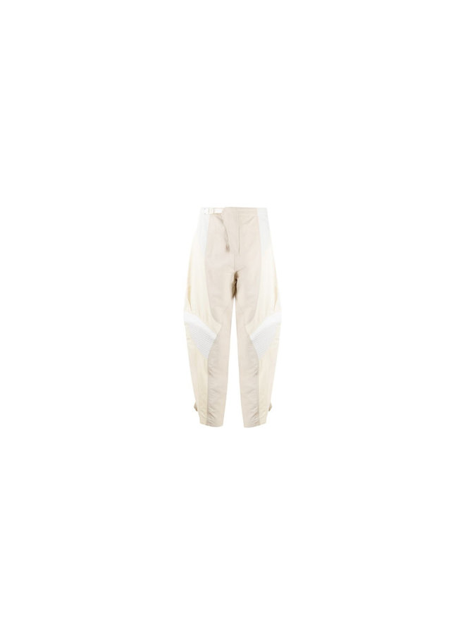 High Waisted Casual Paneled Pants