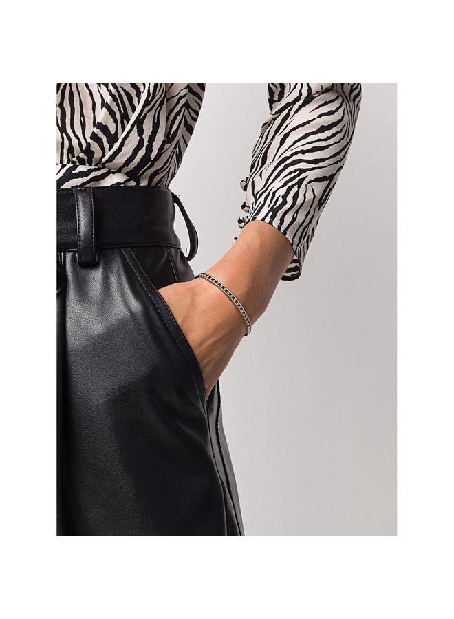 Skinny Tiger Cuff in Silver
