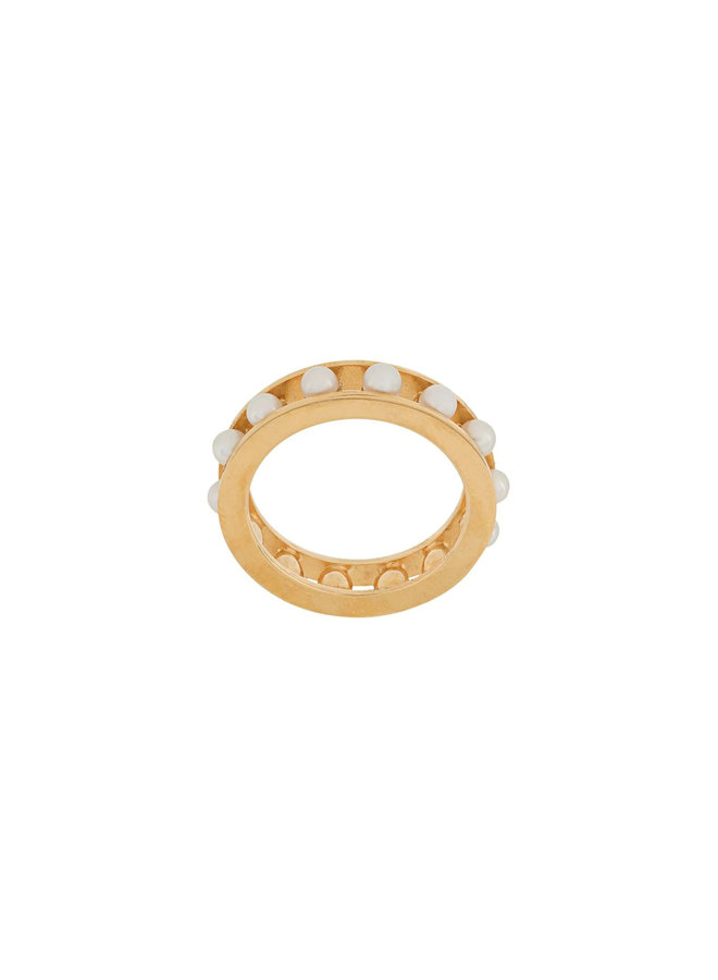 Tiger Pearl Ring