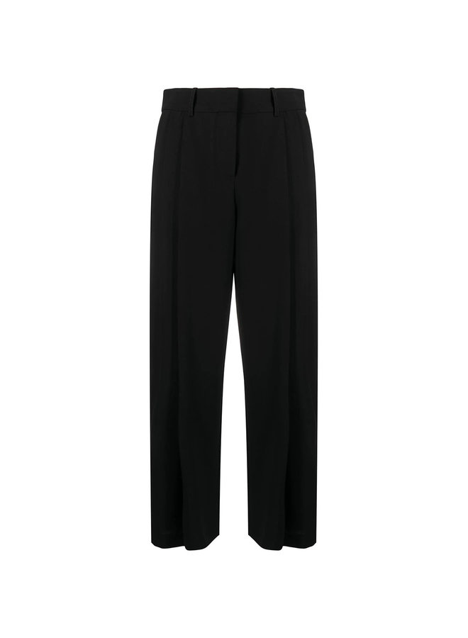 High Rise Flare Pants in Black