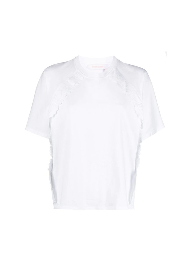 T-shirt with Ruffle Details