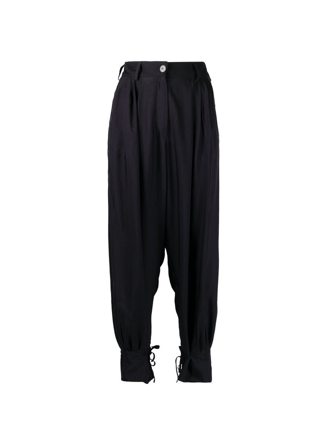 Tapered Balloon Leg Trousers