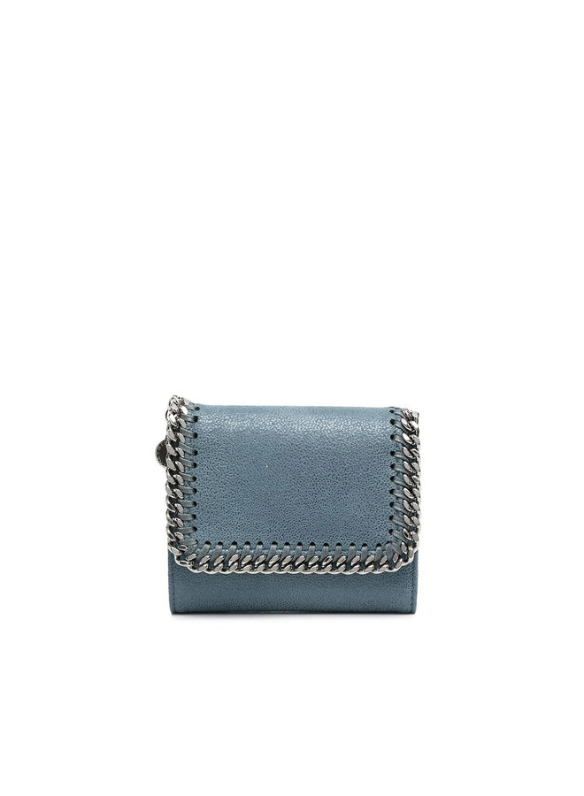 Falabella Small Trifold Wallet in Blue