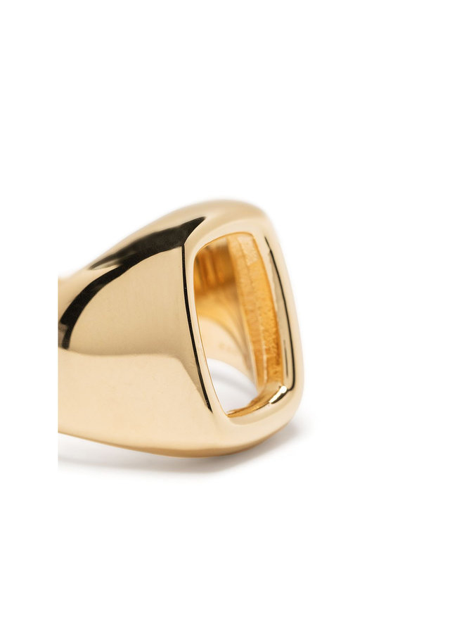 Small Toy Signet Ring in Gold