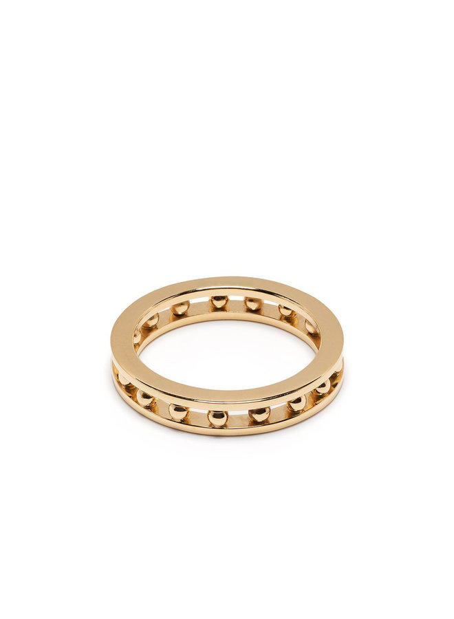 Tiger Ring in Gold