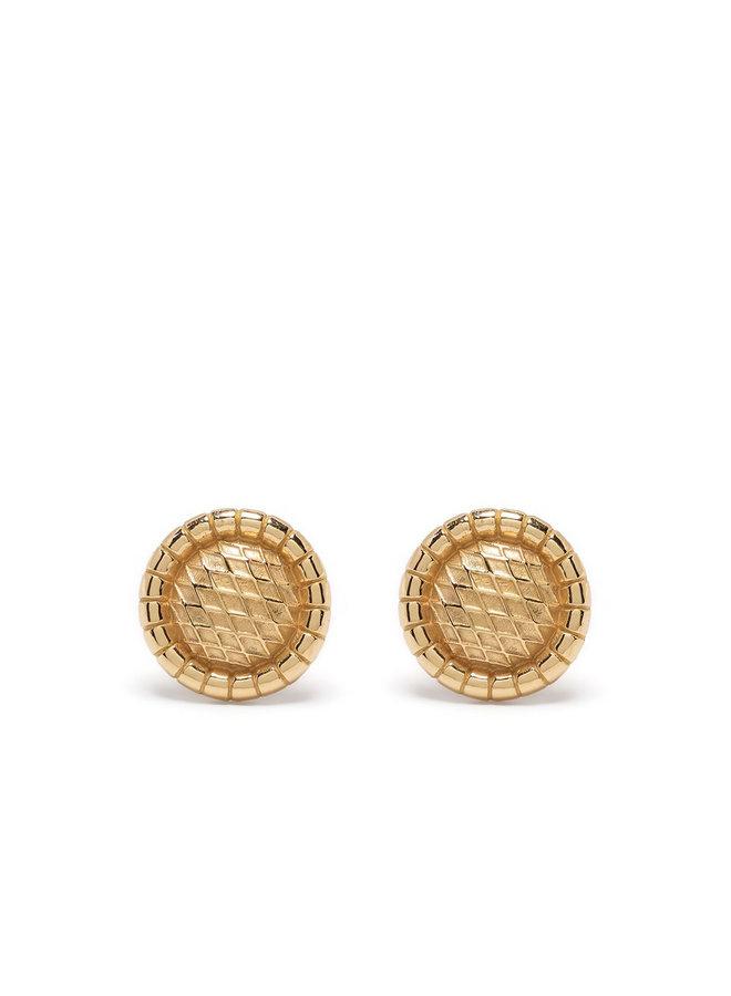 Signora Stud Earrings in Gold
