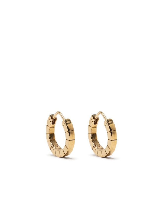 Small Signore Hoops in Gold