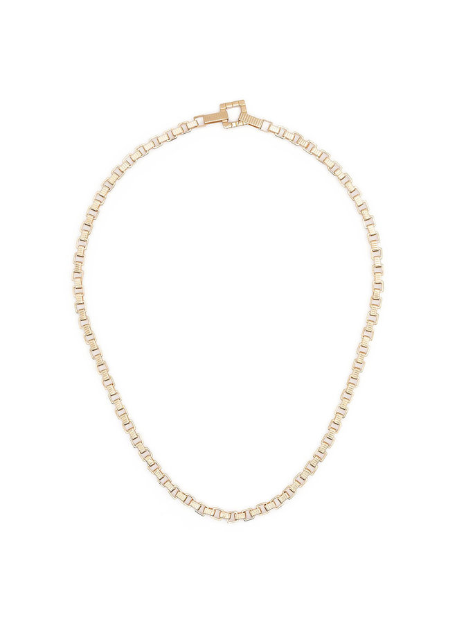 Signore Chain Princess Necklace in Gold