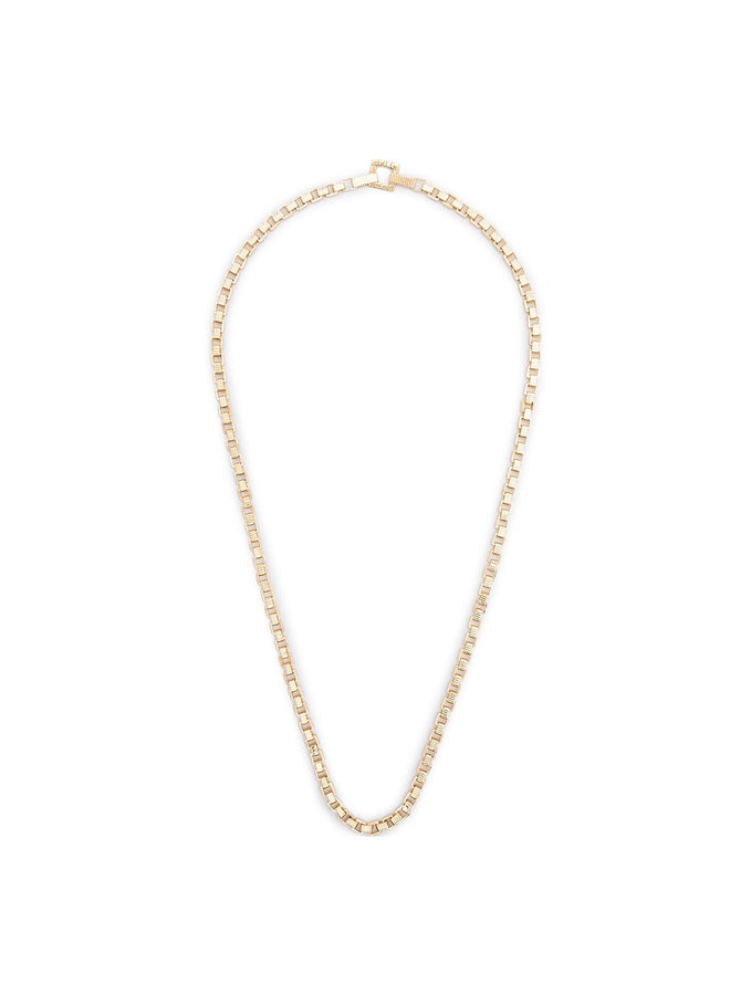 Signore Chain Opera Necklace in Gold