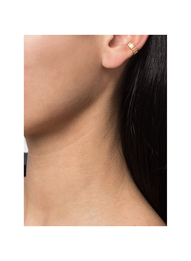 Skinny Slot Earcuff in Gold