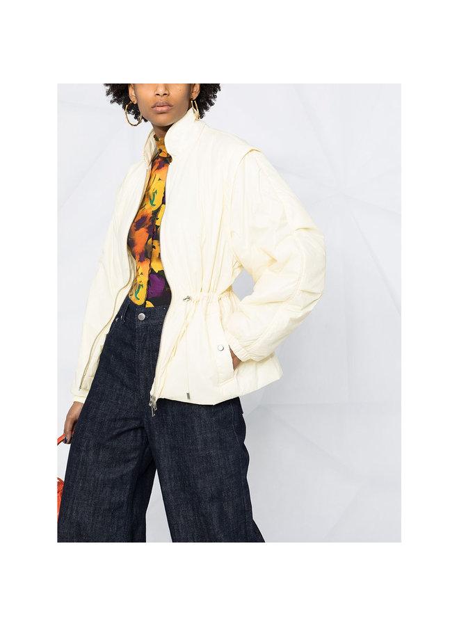Short Light Outwear in Light Yellow
