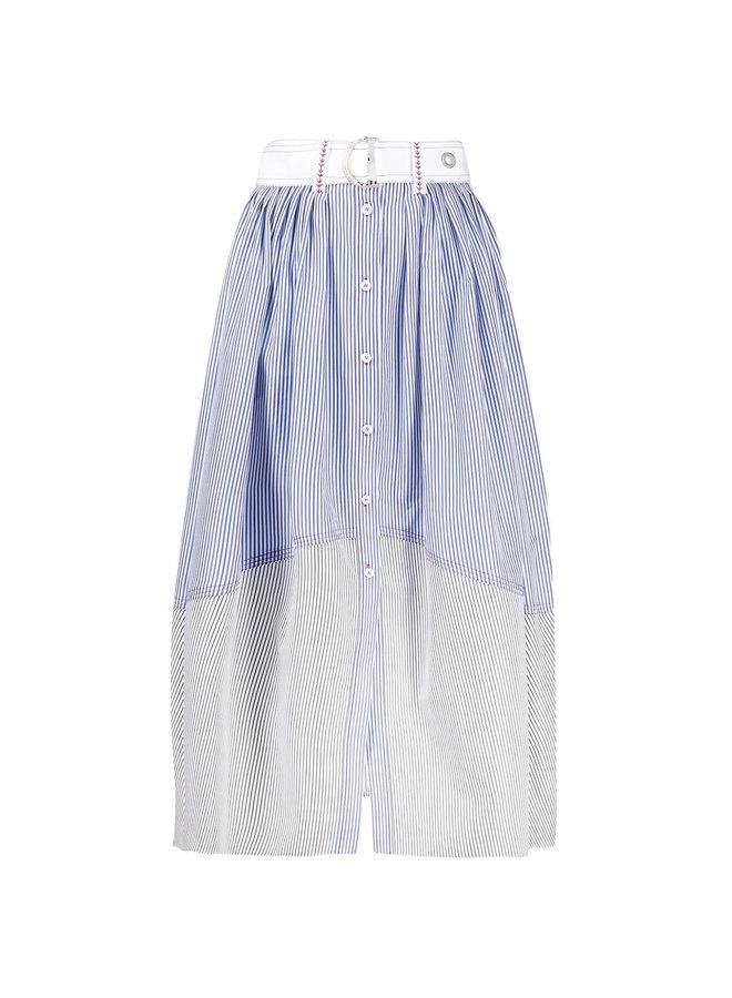 Midi Stripped Skirt