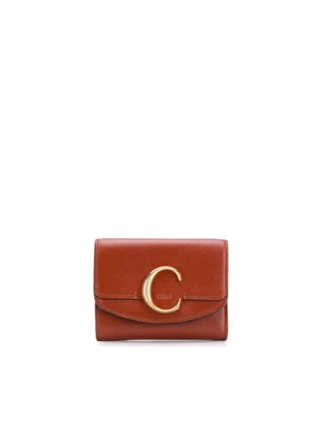 C Mini Trifold Wallet