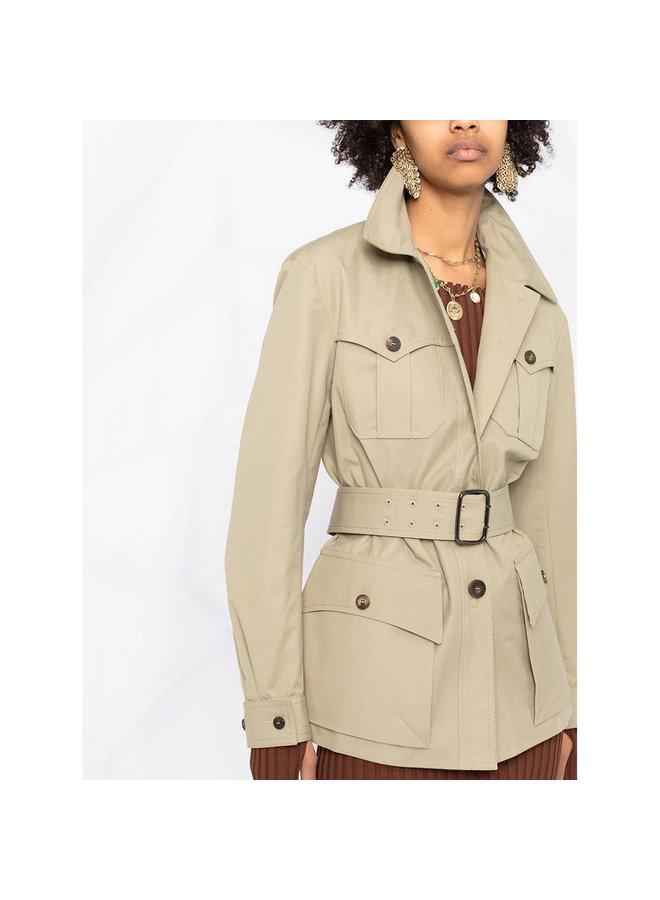 Belted Waist Jacket