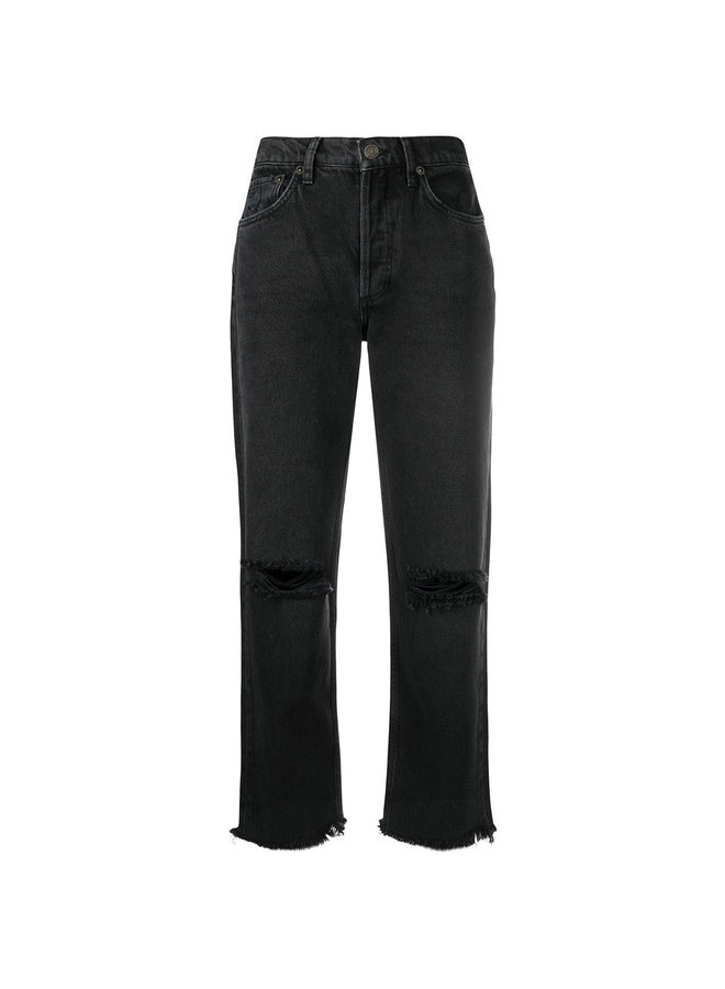 The Tommy High Waist Distressed Jeans