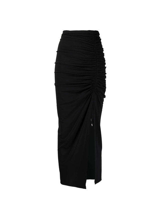 Midi Skirt with Front Slit