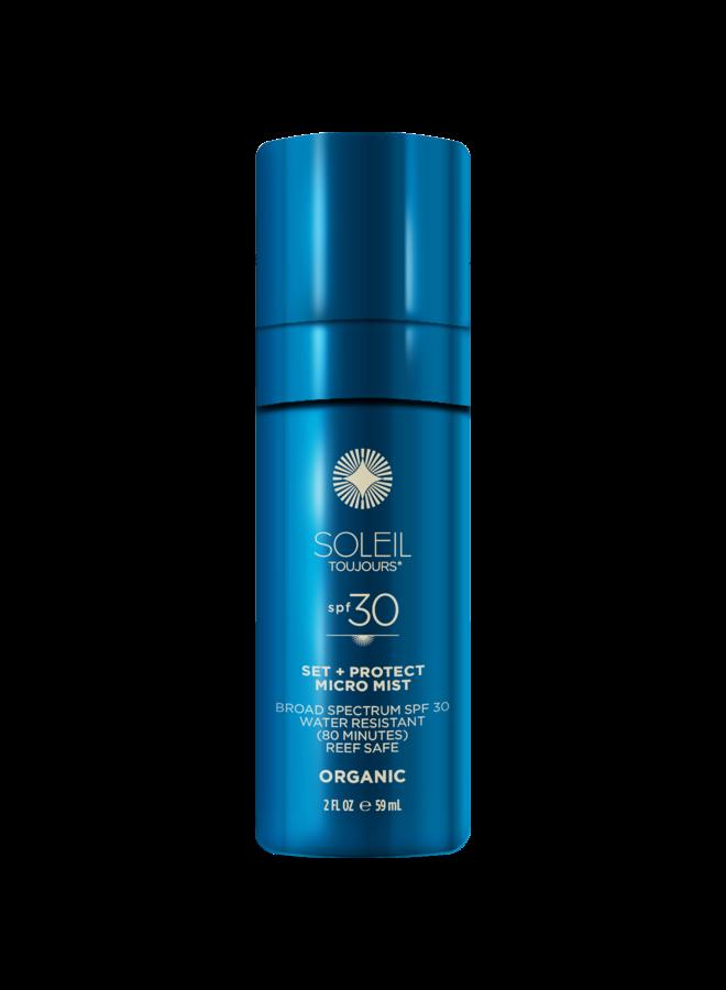 Organic Set and Protect Micro Mist SPF 30
