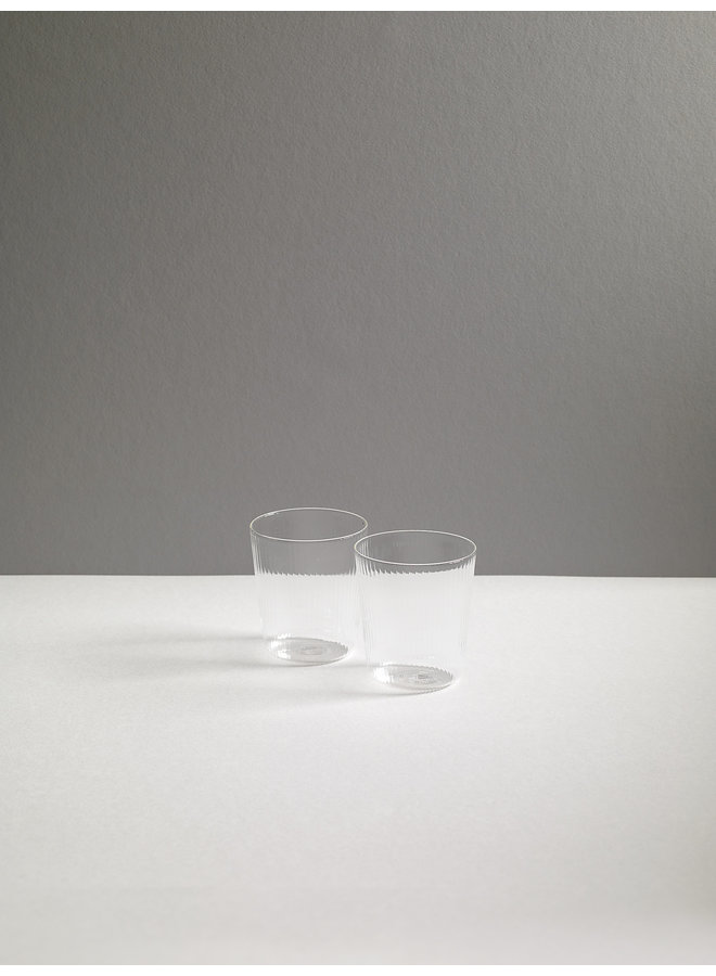 Luisa Calice Short Glassware in Millerighe