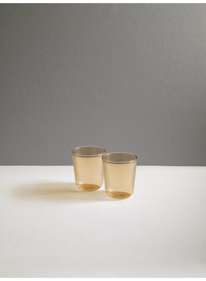 Luisa Calice Short Glassware in Sand