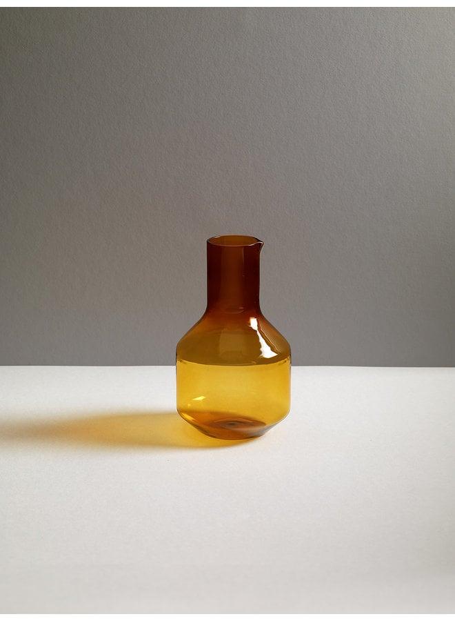 Velasca Carafe Glassware 1L in Amber