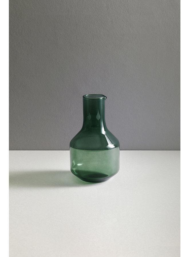 Velasca Carafe Glassware 1L in Slate Green