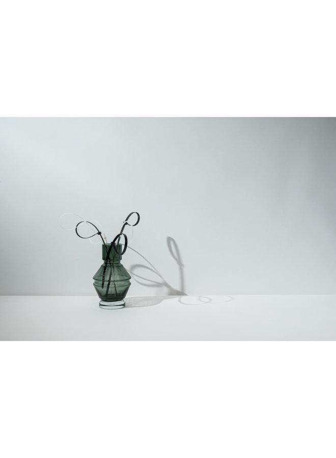 Nicholai Wiig-Hansen Relæ  Small Glass Vase in Cool Grey