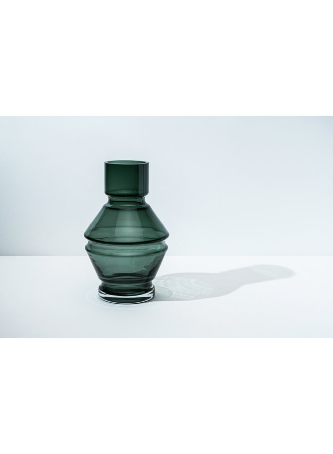 Nicholai Wiig-Hansen Relæ  Large Glass Vase in Cool Grey