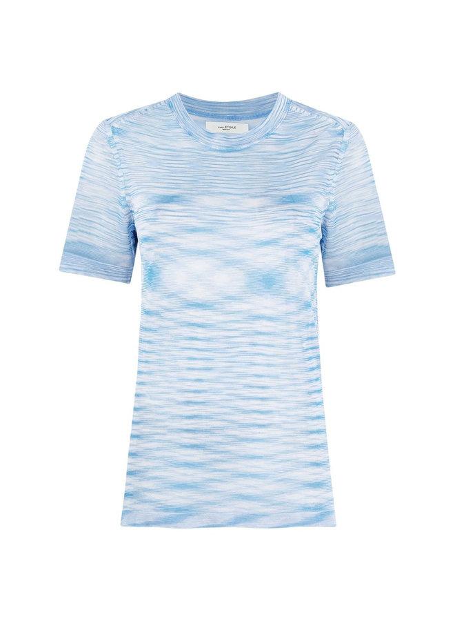 Crew Neck Sheer T-shirt