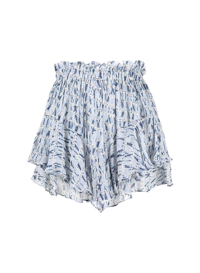 Printed Shorts in Blue