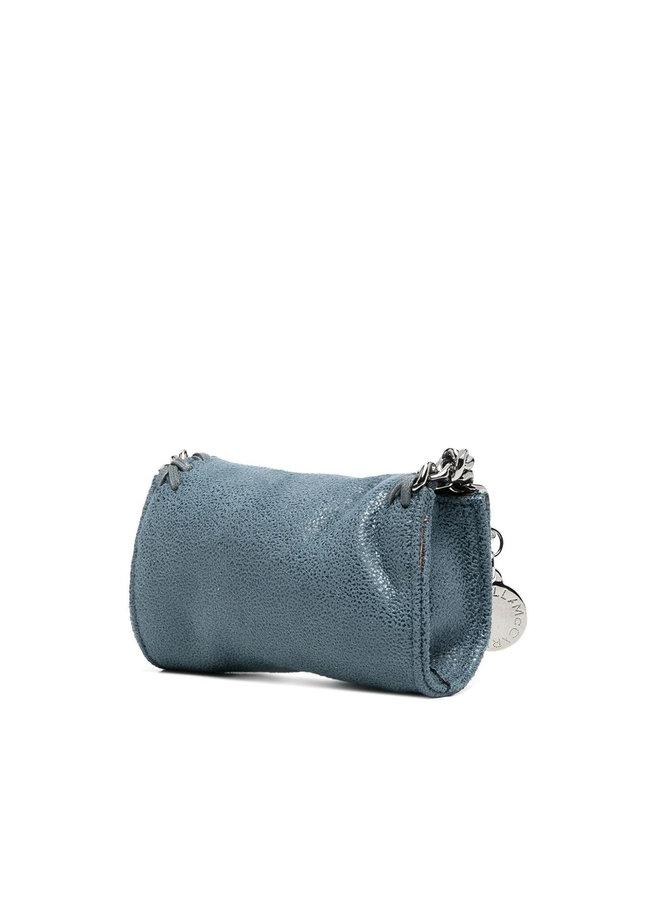 Micro Falabella Crossbody Bag in Blue