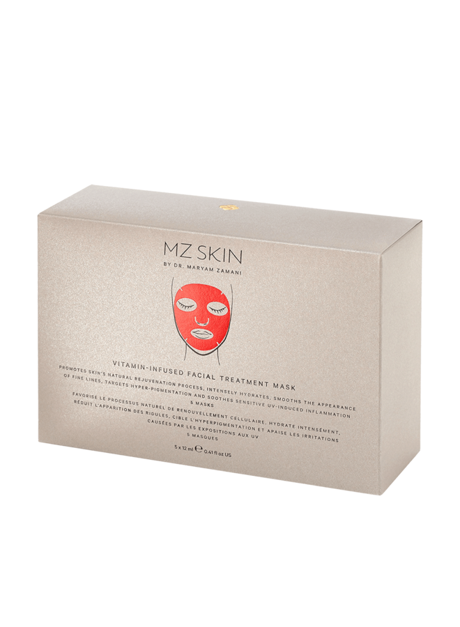 Vitamin Infused Red Facial Treatment Mask