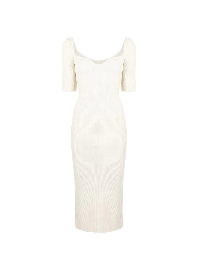 Midi Short Sleeve Dress